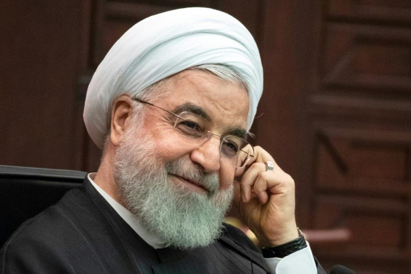 Iran's President Hassan Rouhani, here shown in Ankara on September 16, 2019, may skip next week's UN General Assembly because the United States has yet to issue him and his delegation visas