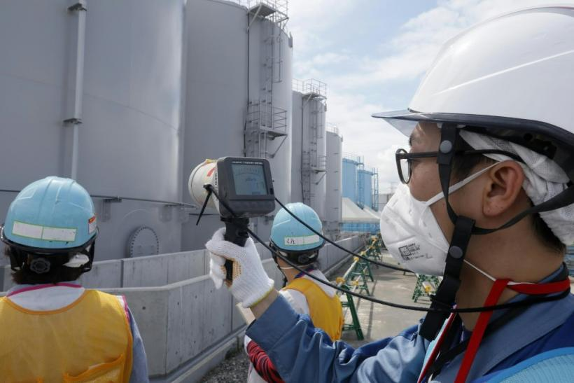 Radiation levels are still being checked at the plant