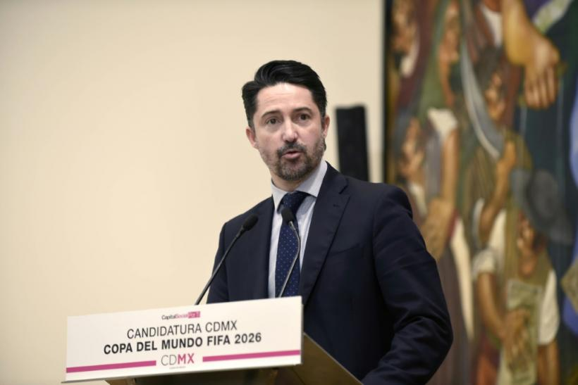 "FMF president Yon de Luisa, pictured in January 2018, said that homophobic slurs often heard at matches would ""endanger our chance to participate"" in the federation"