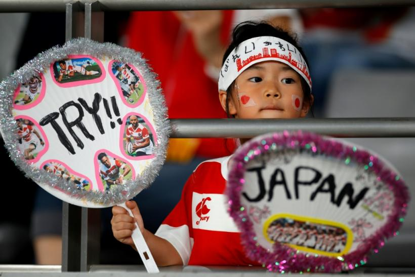 Japan rugby fans new and old flocked to cheer their team at the opener of the Rugby World Cup