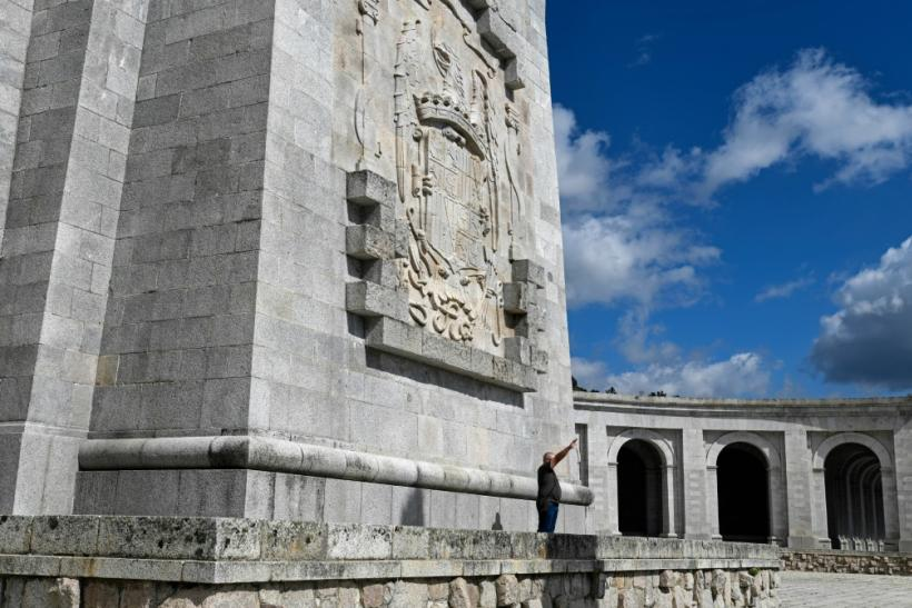 The giant Valle de los Caidos (Valley of the Fallen) at San Lorenzo del Escorial outside Madrid is a monument to Francoist combatants who died during the Spanish civil war as well as Franco´s final resting place