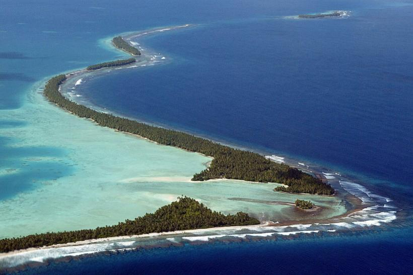 Even before the creeping global waterline covers low-lying atolls, they will likely be rendered inhabitable by a tropical storm engorged by rising seas, or an infiltration of seawater into the fresh water supply