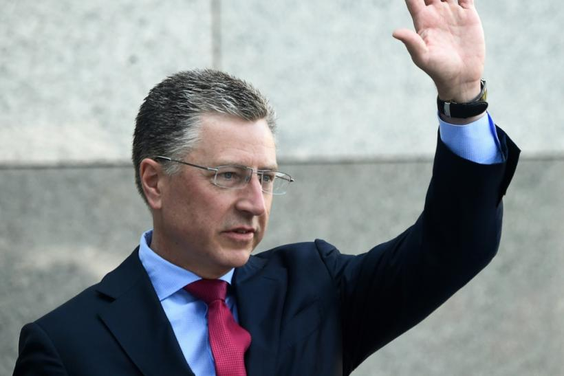 US special envoy for Ukraine Kurt Volker on a visit to Kiev in July 2019