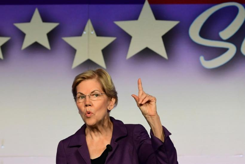 Elizabeth Warren is narrowly ahead in the race to be the Democratic presidential candidate, according to latest polls
