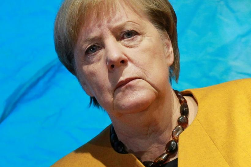 German Chancellor Angela Merkel's office said it would not comment on 'confidential discussions'