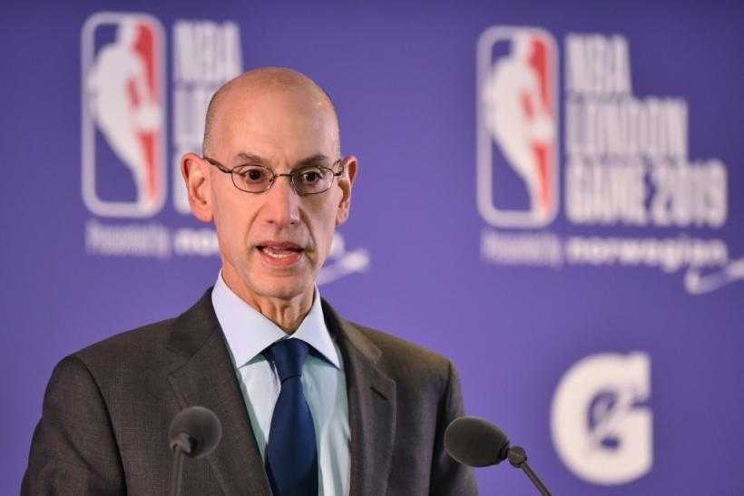 NBA commissioner Adam Silver has come under pressure to speak out more strongly in defence of free speech