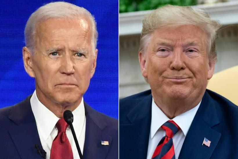Democratic presidential hopeful Joe Biden (L) says Donald Trump's campaign is being allowed to spread misinformation on Facebook as a result of the social network's policy avoiding fact-checking of political speech and ads