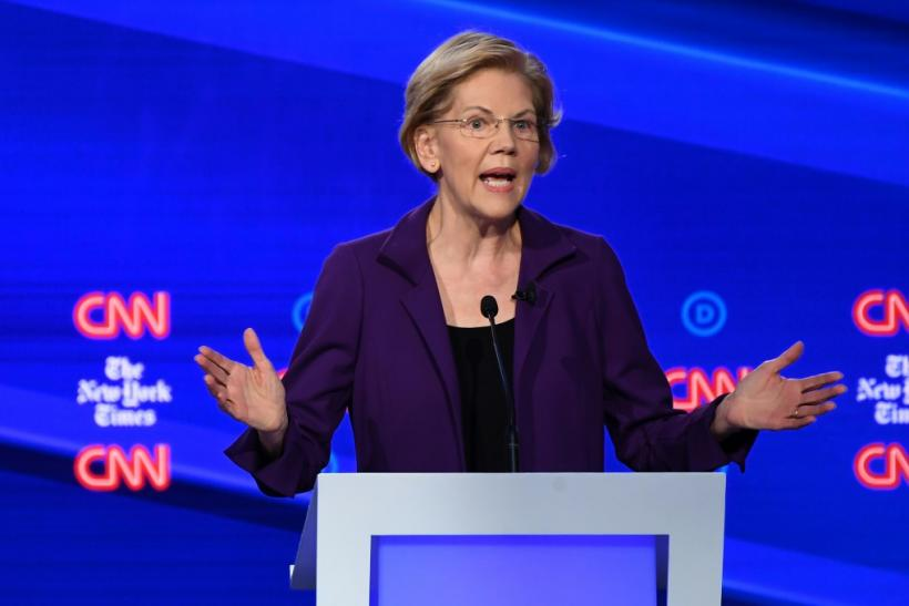 "Elizabeth Warren faced stiff blowback from moderate Democrats who criticized her for declining to come clean on how much her ""Medicare for All"" health plan would cost"