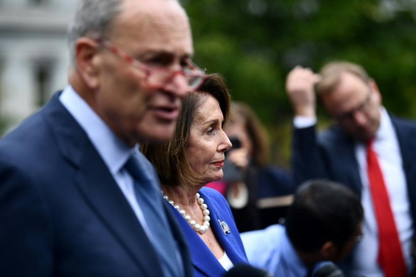 Democratic Senator Chuck Schumer and House Speaker Nancy Pelosi said they walked out of a meeting with President Donald Trump at the White House