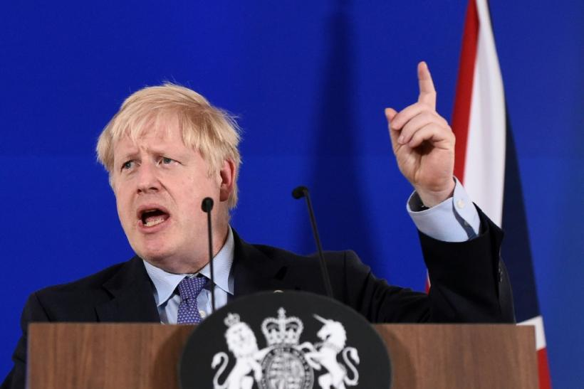 "Britain's Prime Minister Boris Johnson has insisted he would rather be ""dead in a ditch"" than delay Brexit"