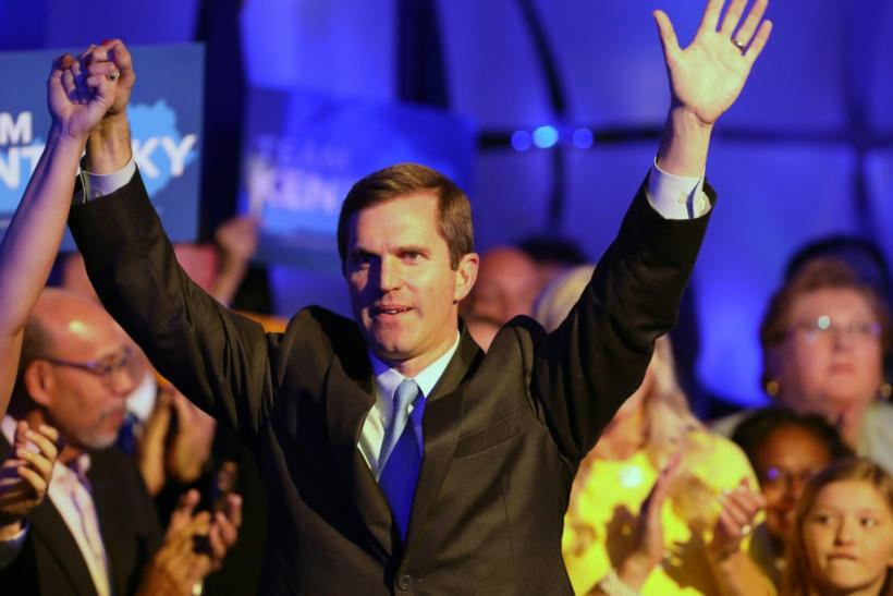 Kentucky Democratic gubernatorial candidate Andy Beshear claimed victory over Republican Matt Bevin, who was backed by US President Donald Trump