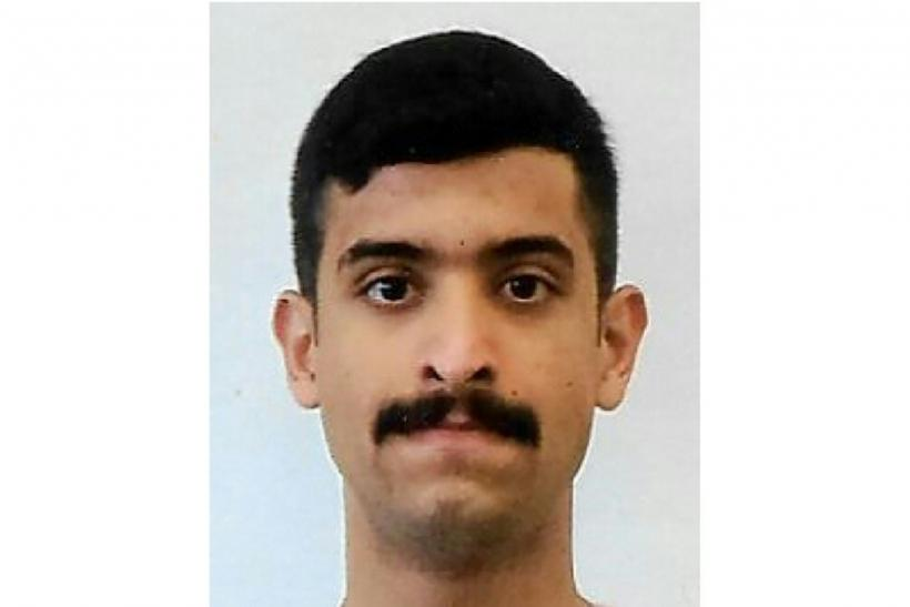 This handout photo released by the Federal Bureau of Investigation (FBI) shows the NAS Pensacola shooter identified as 21-year-old 2nd LT in the Royal Saudi Air Force Mohammed Alshamrani