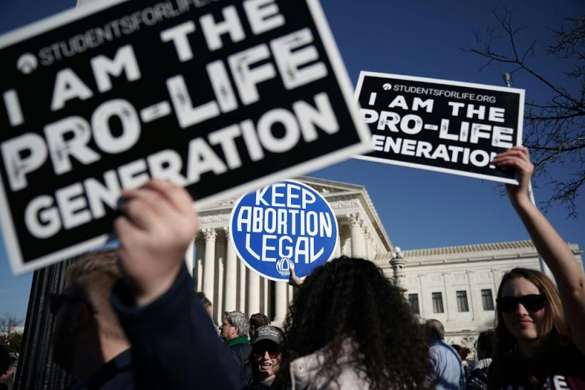 Trump promised to nominate only Supreme Court justices who were opposed to abortion rights and favorable to lenient gun laws