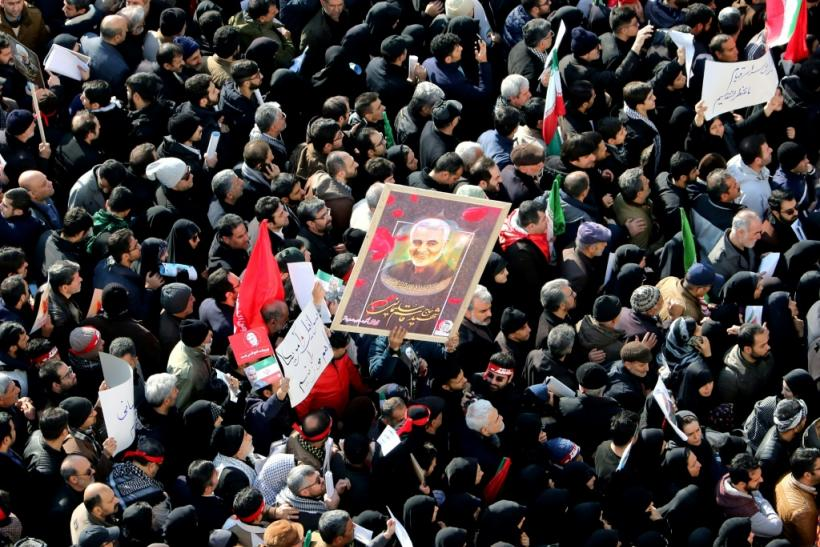 People packed the streets in cities across Iran for ceremonies commemorating the mastermind of Iran's operations in Iraq, Syria and Yemen