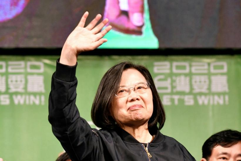 Taiwan investors have welcomed a landslide victory for President Tsai Ing-wen