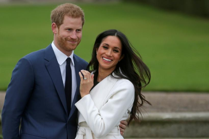 Britain's Prince Harry and his wife Meghan (pictured following their engagement in 2017) have started a new life in Canada away from the British monarchy