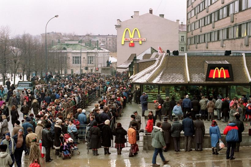 A plan to sell Big Macs in Moscow at January 1990 prices was scrapped owing to concern that it could help spread the coronavirus
