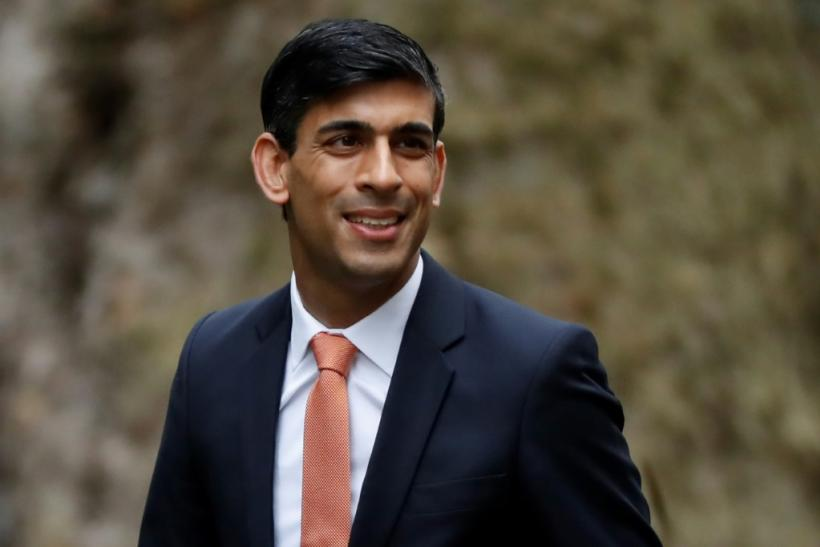 The UK's new finance minster Rishi Sunak following his appointment by Prime Minister Boris Johnson on Thursday
