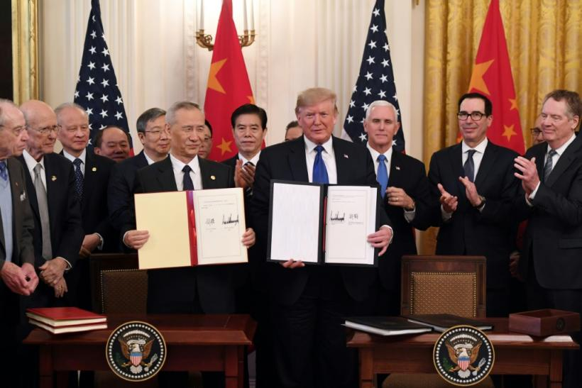 """The """"phase one"""" trade agreement signed by the United States and China prevented some damaging tariffs from taking effect, but duties remain in place on about two-thirds of goods traded between the two economic powers"""