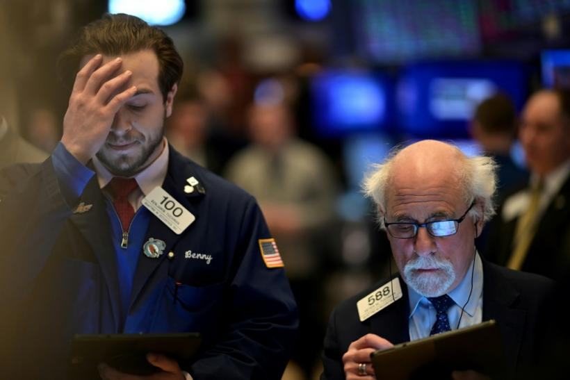 The declines on Wall Street come as US companies raise concerns over the impact of the coronavirus, including less spending from tourists and supply chain problems