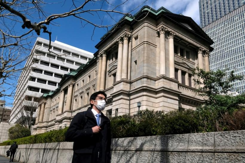 The Bank of Japan has warned the economy could shrink as much as five percent in the year to March 2021