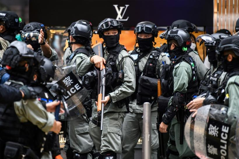 Hong Kong police have arrested thousands of people in demonstrations over the last year