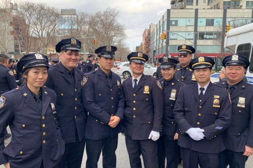 NYPD Asian officers