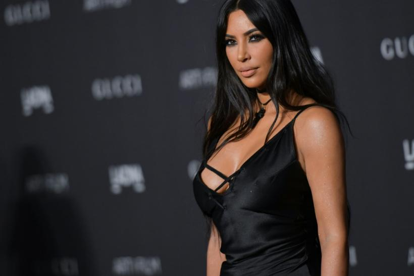 Kim Kardashian West, pictured here in November 2018, has agreed to sell a 20 percent stake in her beauty brand to Coty for $200 million