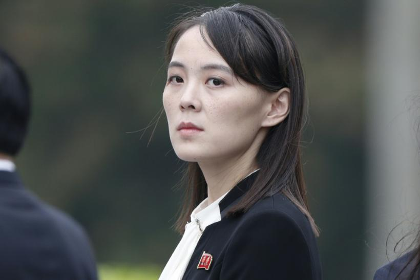 Kim Yo Jong is a close adviser to her brother, North Korean leader Kim Jong Un