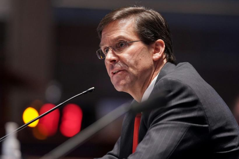 """Secretary of Defense Mark Esper says he plans to visit China for talks on """"crisis communications"""""""
