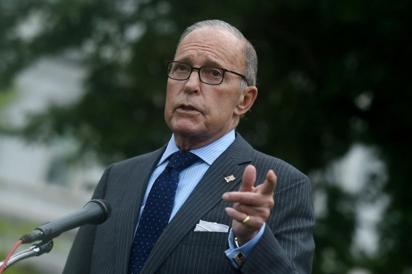 White House economic advisor Larry Kudlow said the United States is in the midst of a strong recovery from the coronavirus downturn