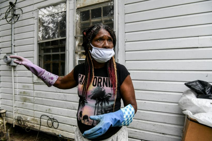 Katina Hawkins, 61, a resident of Fayette, Mississippi, survives on food stamps