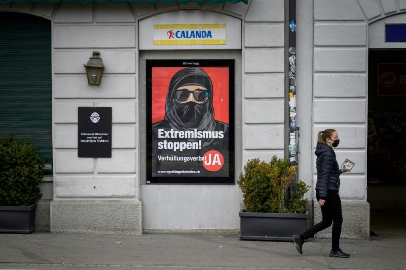 While the referendum proposal does not mention Islamic veils, it is clearly directed at the burqa