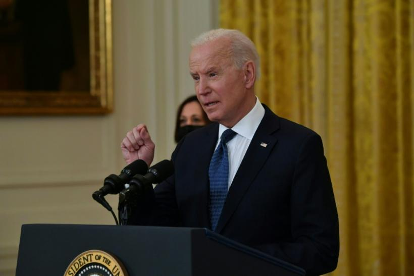 US President Joe Biden has pushed back on the idea extra jobless payments are hindering hiring