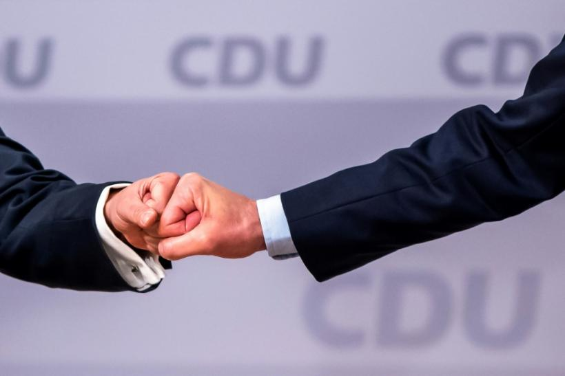 A German conservative alliance has gained momentum in recent weeks and is now polling on around 28 percent