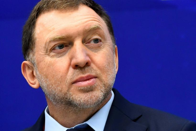 FBI agents are conducting a search at the Washington home of Russian tycoon Oleg Deripaska