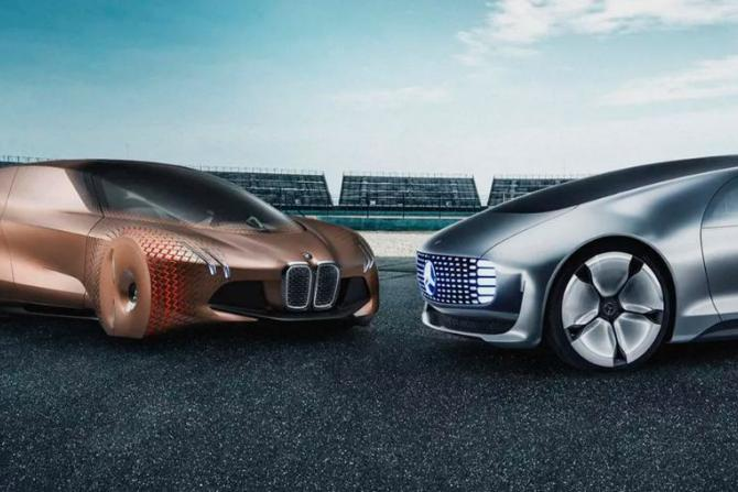 Self-driving concept cars