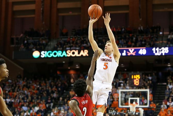Kyle Guy Virginia basketball