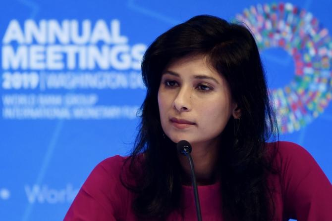 IMF chief economist Gita Gopinath welcomed the recent US-China trade truce, and said a durable solution could help boost the global economy