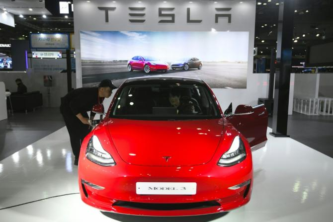 Electric carmaker Tesla said it boosted deliveries of its most affordable vehicle, the Model 3, as it delivered a surprise profit in the past quarter