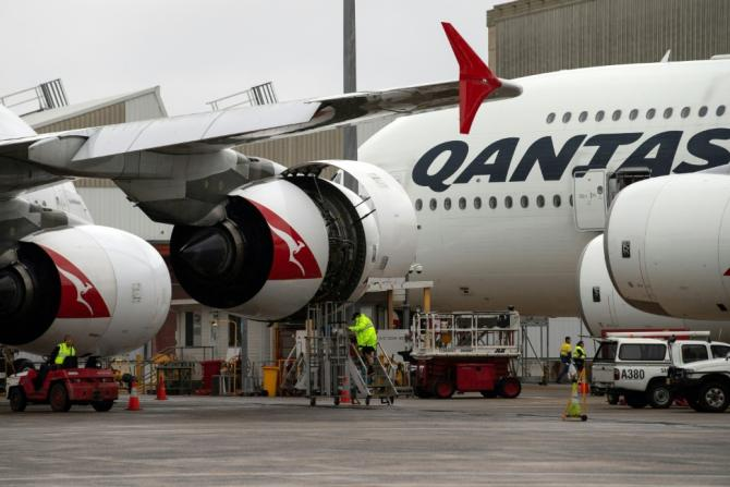 Qantas has grounded one Boeing 737NG due to a crack and is urgently inspecting 32 others
