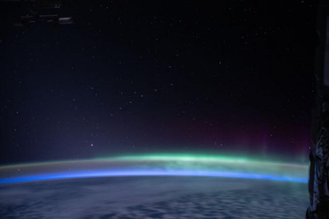 Starlink From ISS