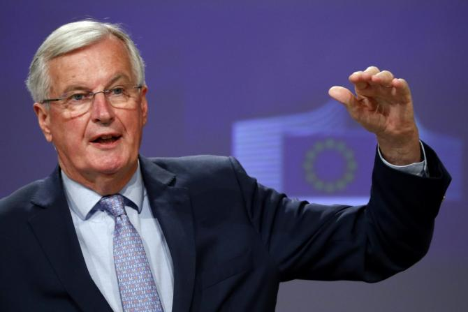 "EU negotiator Michel Barnier says failing to reach agreement will have consequences -- which ""will be added to the already very serious consequences of the coronavirus crisis"""