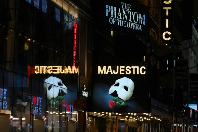 Broadway's fabled theaters, once a major money maker for New York, have been dark for months due to the coronavirus pandemic, and performers have no idea when they might get back to work