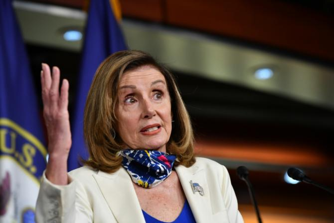 Democratic House Speaker Nancy Pelosi wants to spend $2.2 trillion on another US stimulus measure, but Republicans say the bill would cost too much