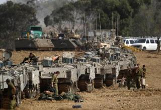 Hamas Fires On Jerusalem, IDF Prepares For Gaza Ground Assault As Egypt Backs Away