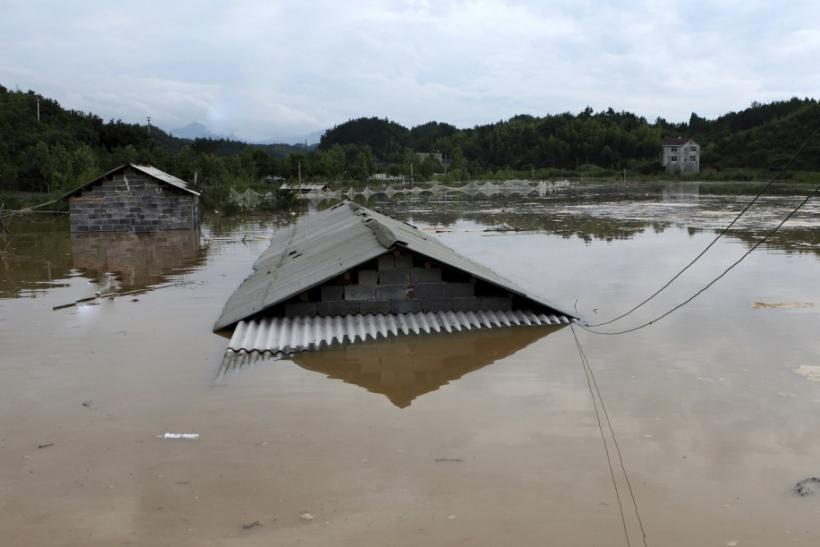 China floods, mudslides kill 94