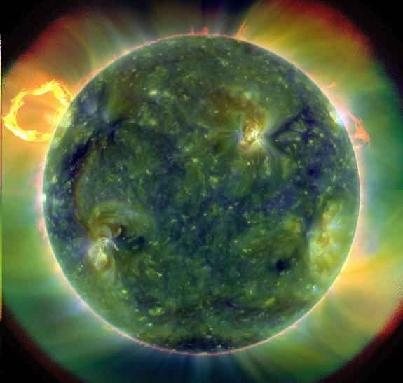 NASA reveals amazing new photos of sun