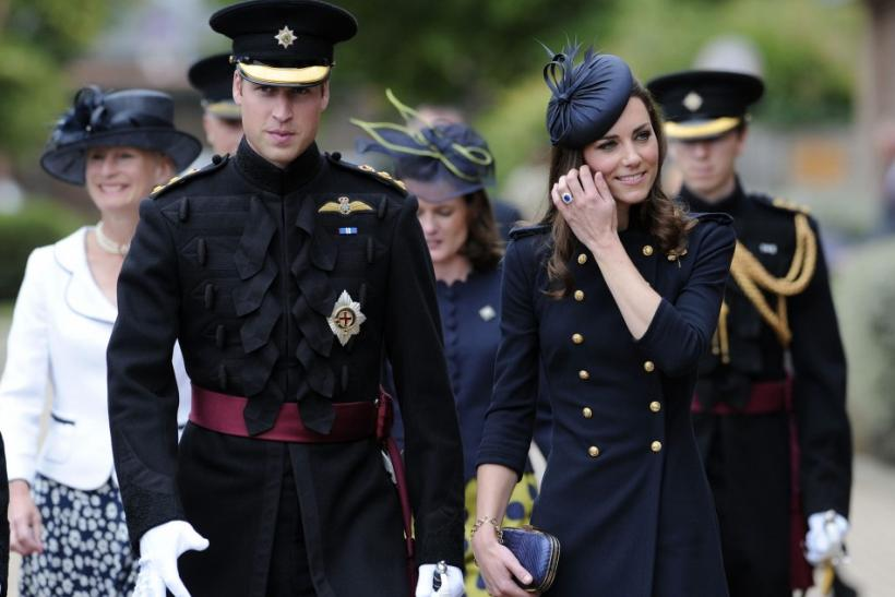 Kate Middleton dons Alexander McQueen military look on Armed Forces Day.