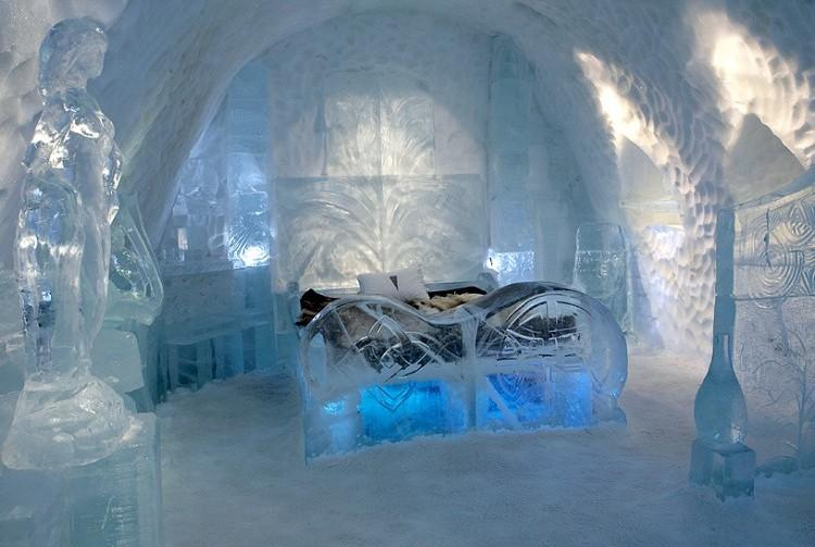 how to beat the heat icehotel sweden international business times. Black Bedroom Furniture Sets. Home Design Ideas